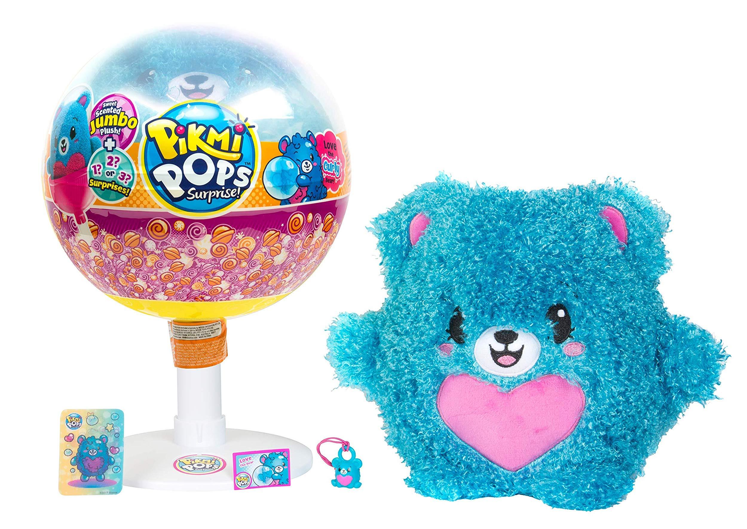 Купить Ароматизированная игрушка Pikmi Pops Медвежонок, с аксессуарами, Китай