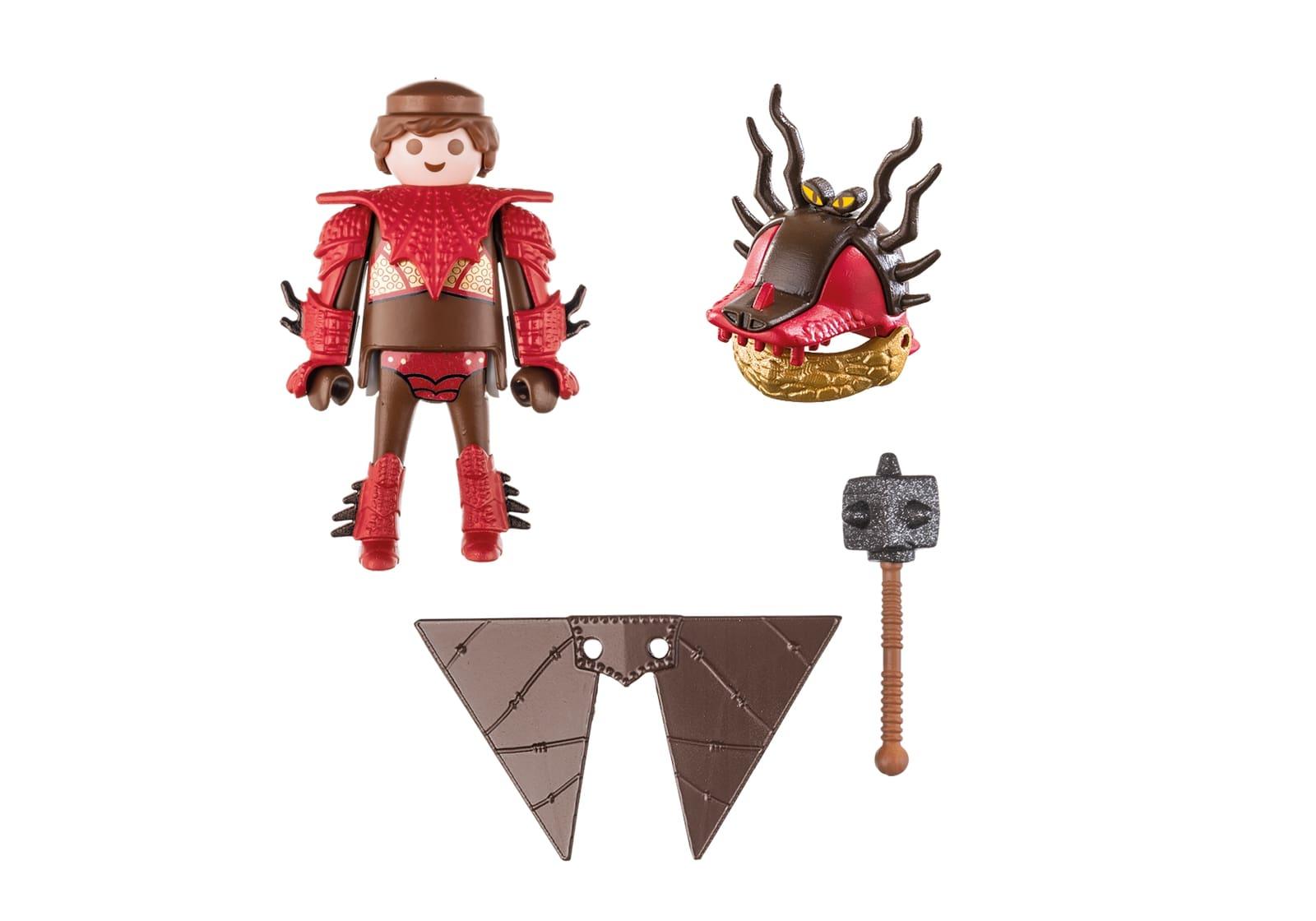 Купить Драконы III:Сморкала в летном костюме, Playmobil, Мальта