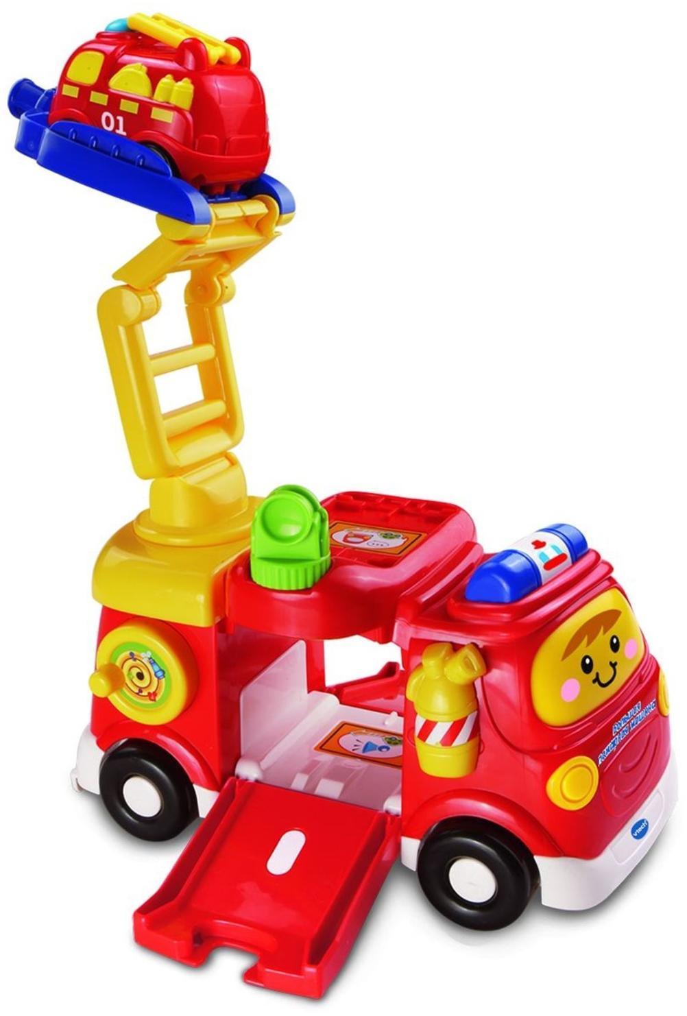 Купить VTECH Большая пожарная машина - интерактивная игрушка, Китай
