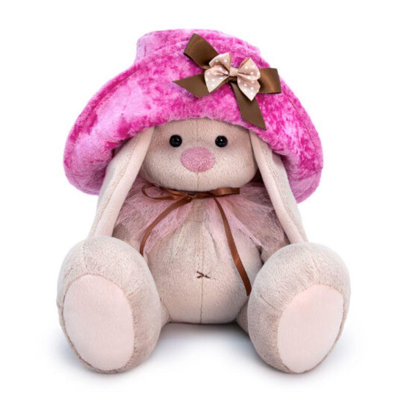 Купить BUDI BASA Мягкая игрушка Зайка Ми в шляпе, 23 см, SidM-367, Россия