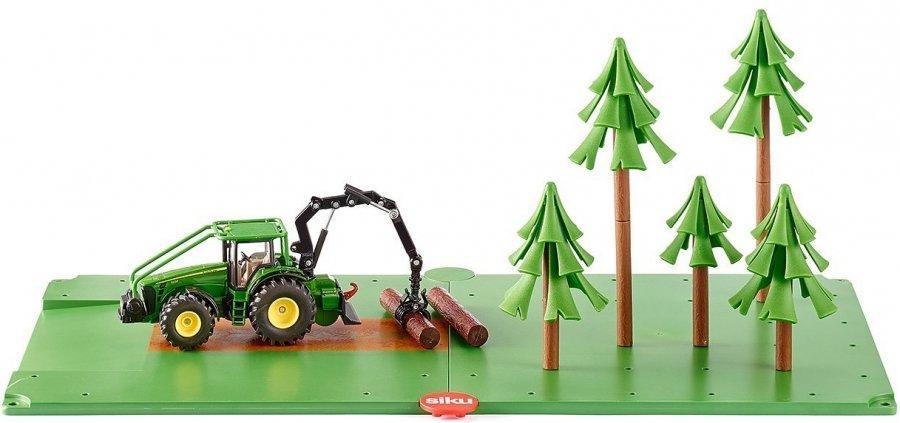 Купить SIKU Набор для лесного хозяйства - набор из транспорта и аксессуаров, Китай