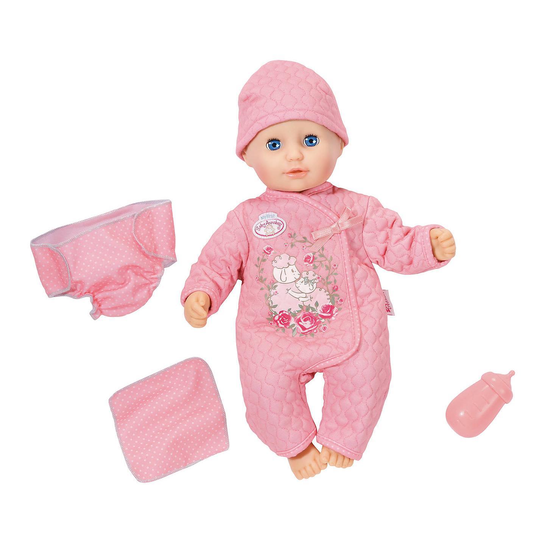 """Интерактивная кукла Baby Annabell """"Веселая малышка"""", 36 см"""
