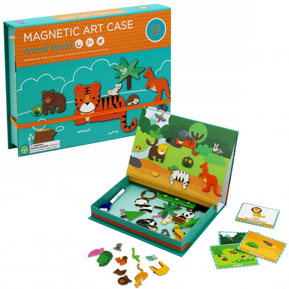 Купить Mieredu Магнитная игра Мир животных , Китай