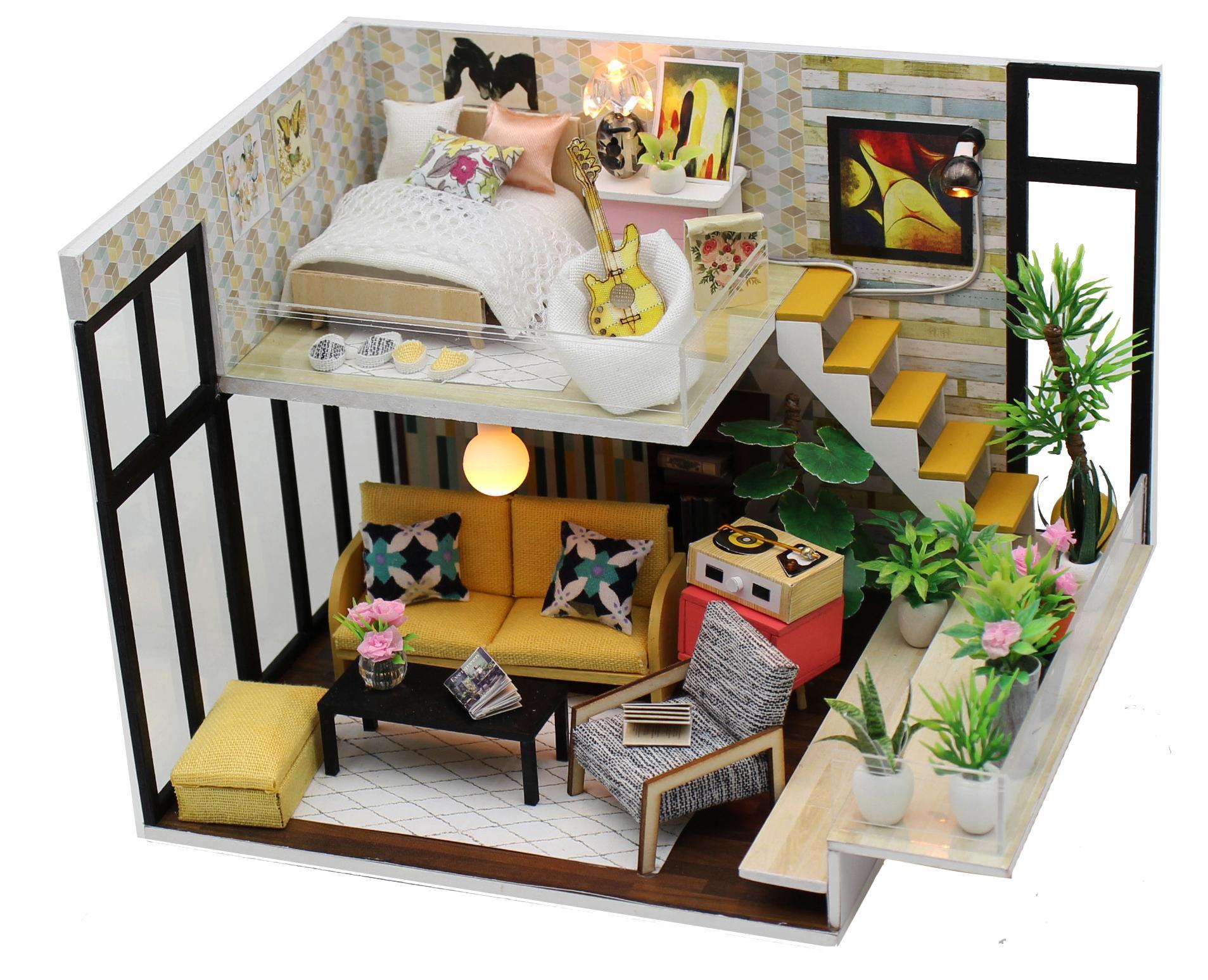 Купить Румбокс DIY MINI House Эколофт , Diy House, Китай