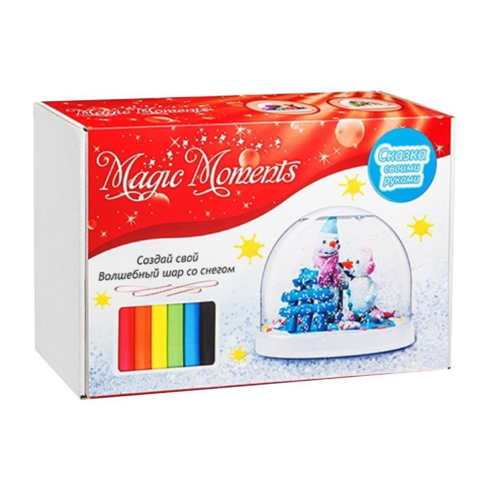 Набор для творчества MAGIC MOMENTS mm-1 Волшебный шар Снеговики