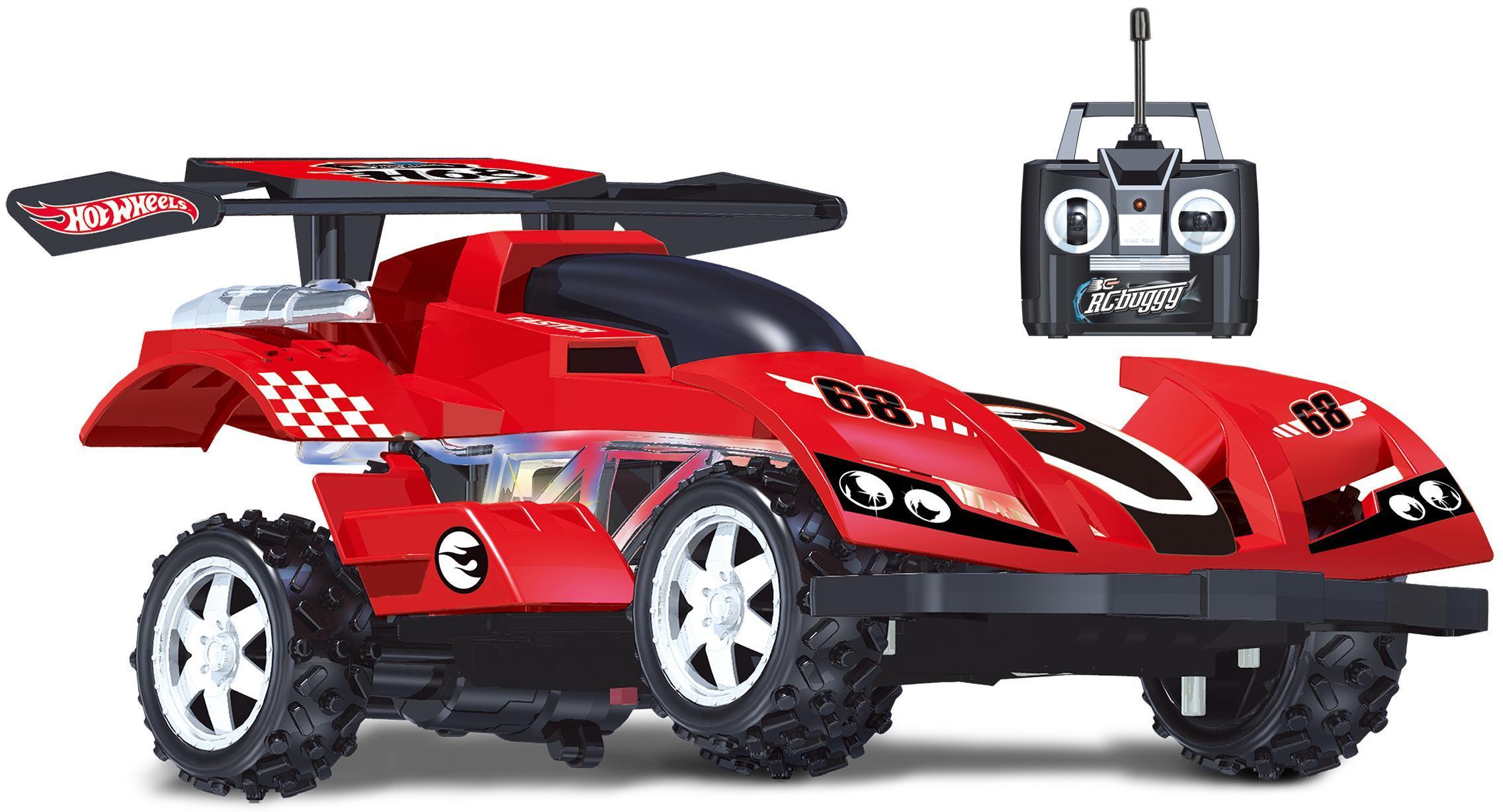 """Hot Wheels """"Машинка со светом красная   Т10985"""" - машина на радиоуправлении"""