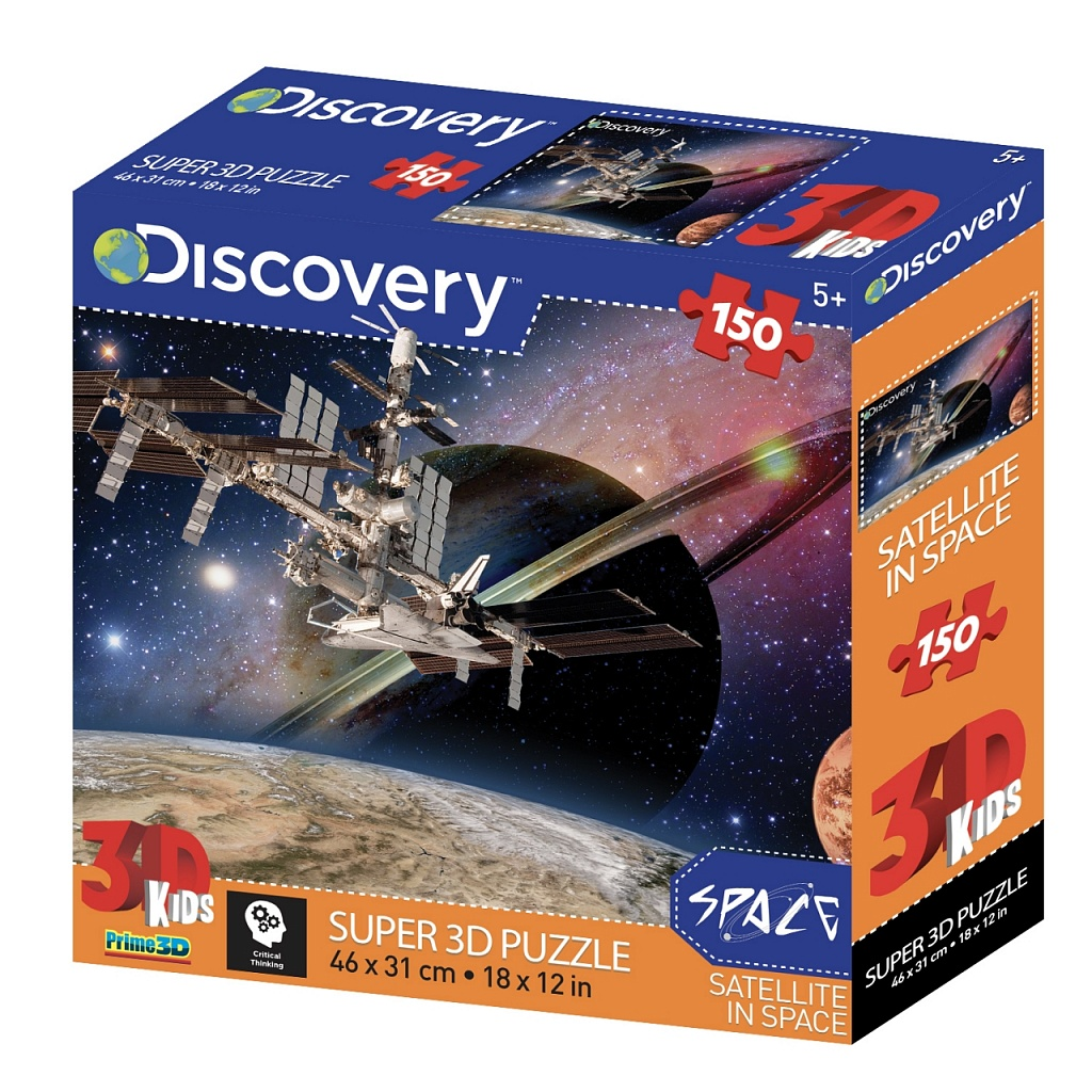 Купить PRIME 3D Стерео пазл Космическая станция , Китай