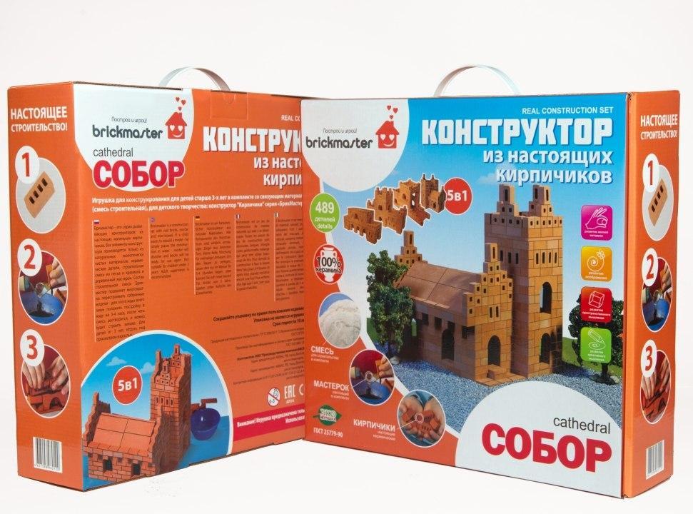 Купить BRICKMASTER Собор 5 в 1 - конструктор 489 деталей, Россия