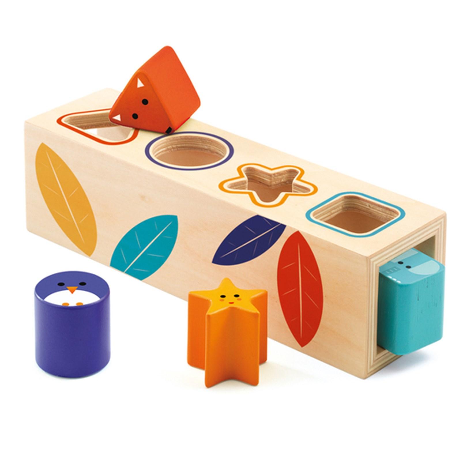 Купить DJECO Деревянная игрушка Сортировка Боита , Франция