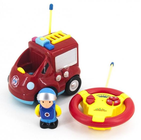 Купить JakMean Детская радиоуправляемая пожарная машина | 6616 , Китай