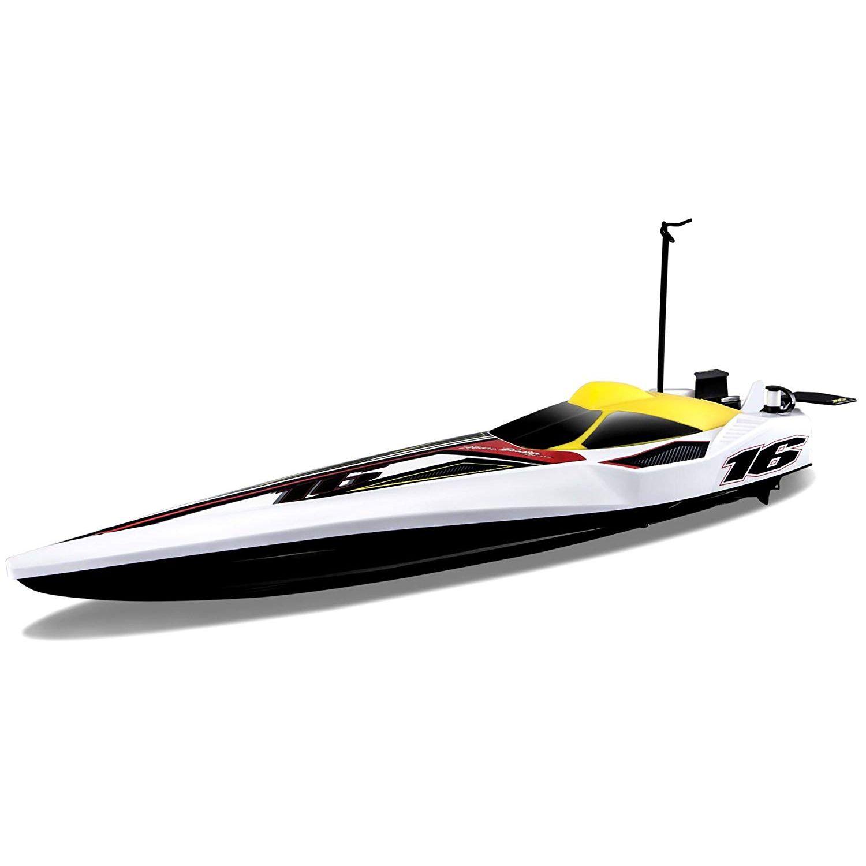 """Maisto радиоуправляемая гоночная лодка """"Hydro Blaster"""" 27/40Mhz белый"""