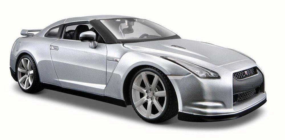 Купить Maisto Машинка серая - Nissan GT-R (R35) 2009г 1:24 , Китай
