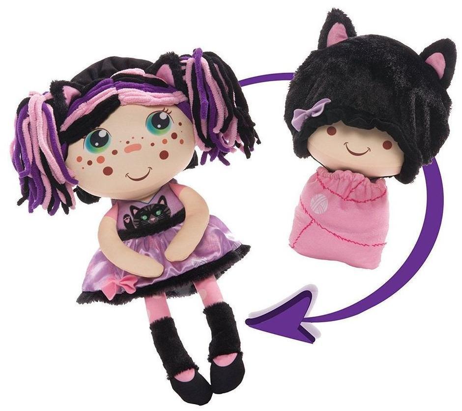 Купить Мягкая кукла 2 в 1 1toy Девчушка вывернушка Танюшка, Вывернушки 1Toy, Китай