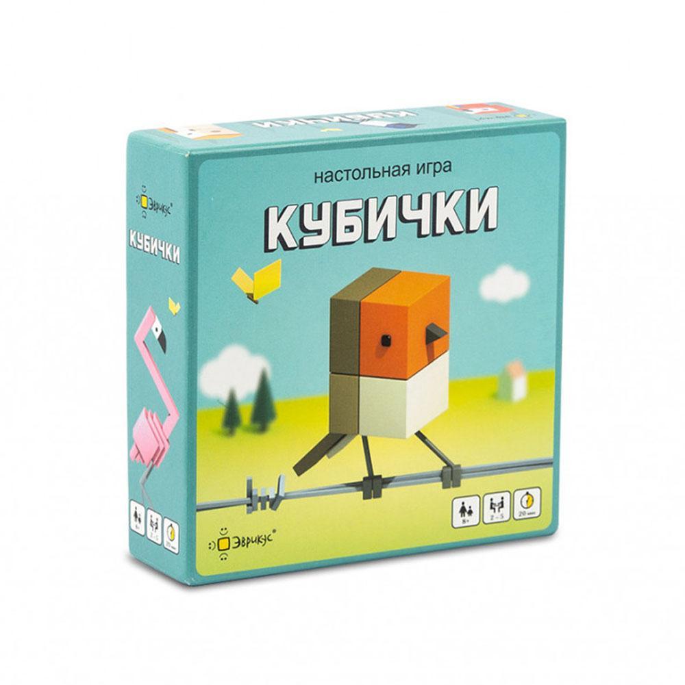 Купить Эврикус Настольная игра Кубички , Россия