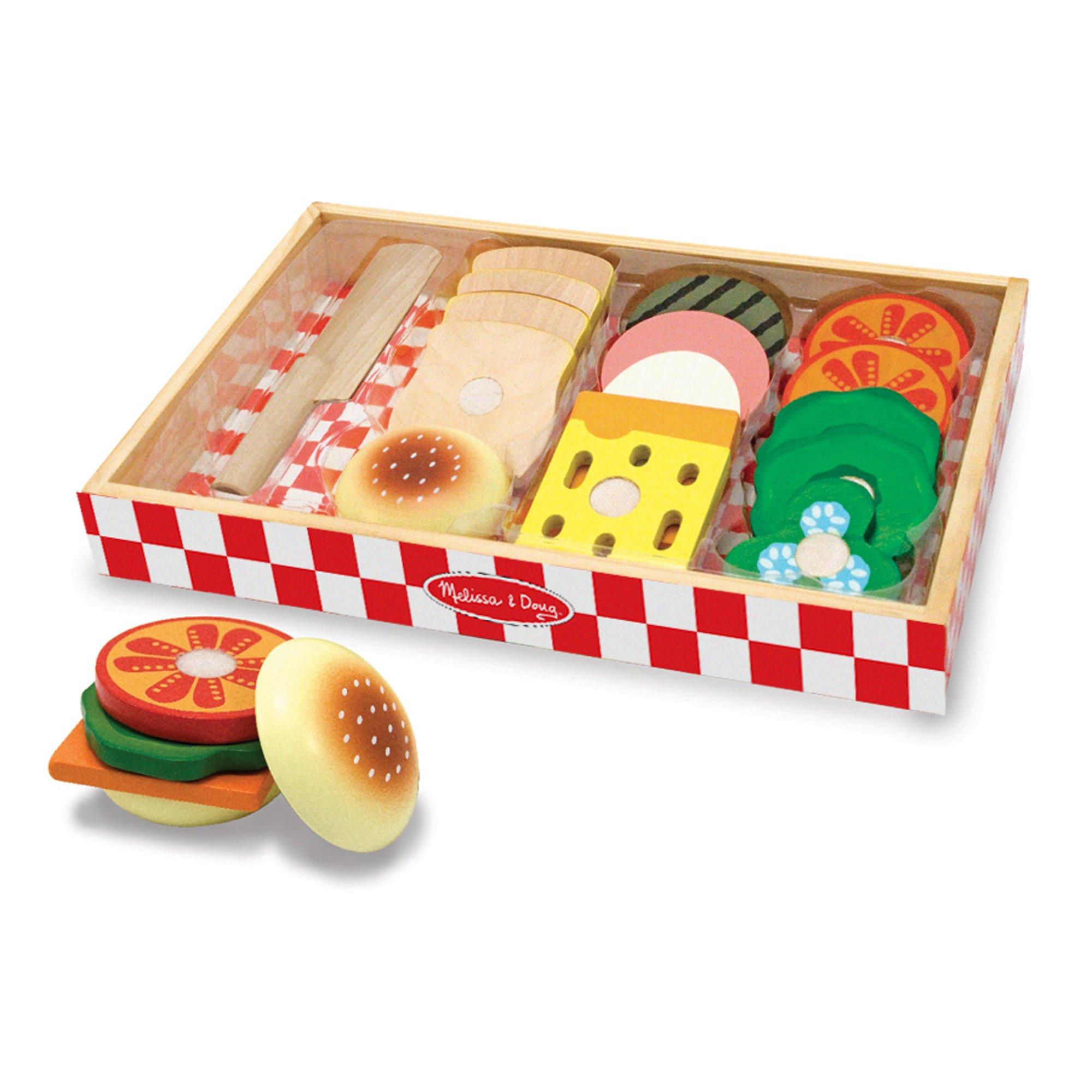 Купить Melissa & Doug Готовь и играй Делаем сэндвич, Melissa&Doug, Китай