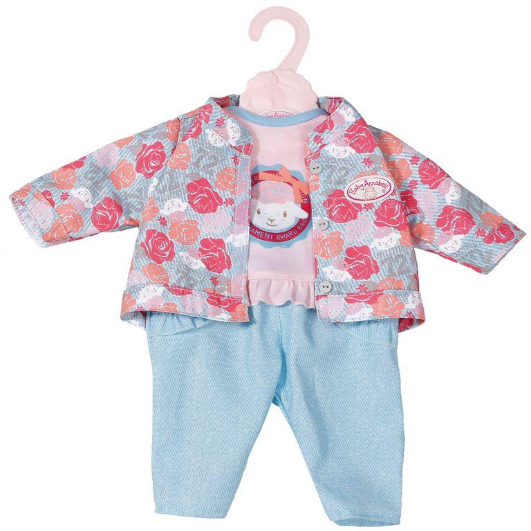 "Baby Annabell ""Комплект тройка голубой с розами 701-973/1"" -  Одежда для прогулки"