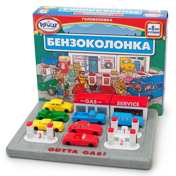 Купить Стиль жизни настольная игра-головоломка Бензоколонка! , Россия