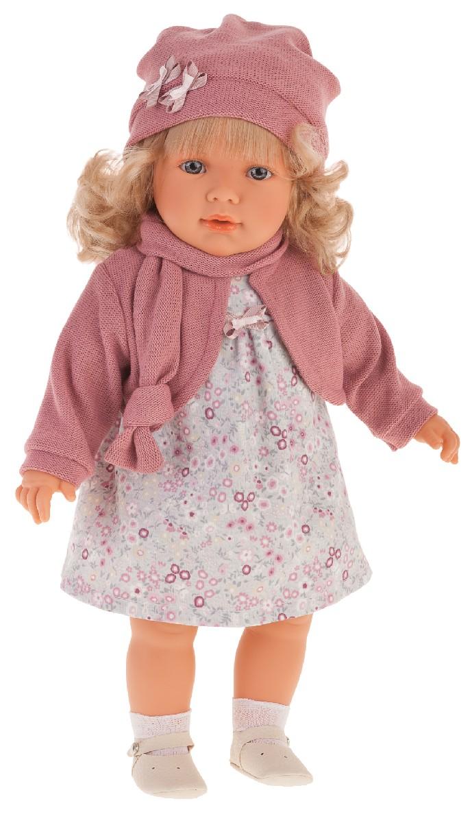 Antonio Juan 1828P Кукла Абрил в розовом, 55см