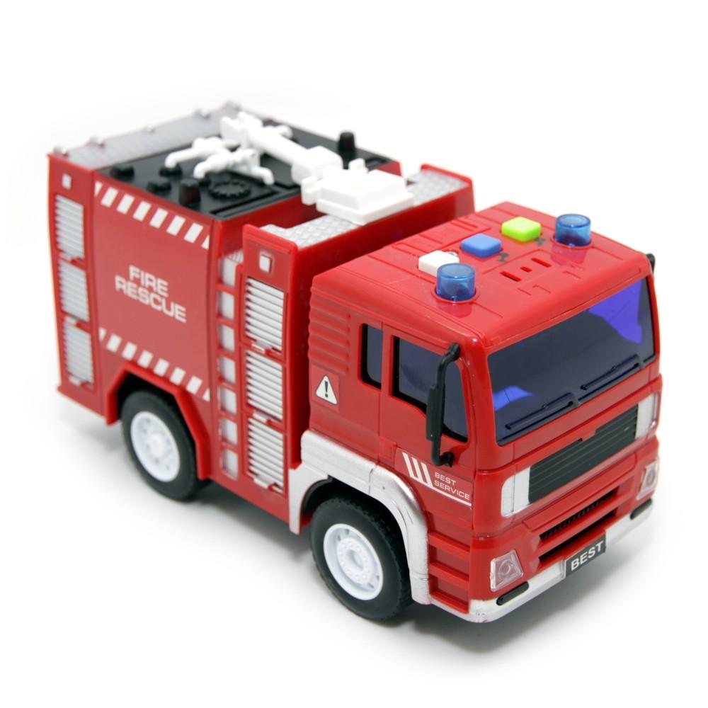 Купить BALBI Машина пластиковая PT-005-C Пожарная машина инерционная, Китай