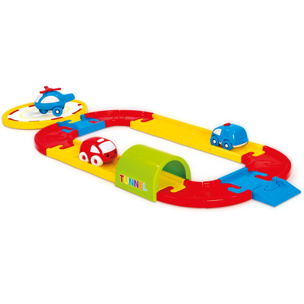 Купить Dolu Игровой набор - Круговая дорога с машинками, 24 детали, Турция