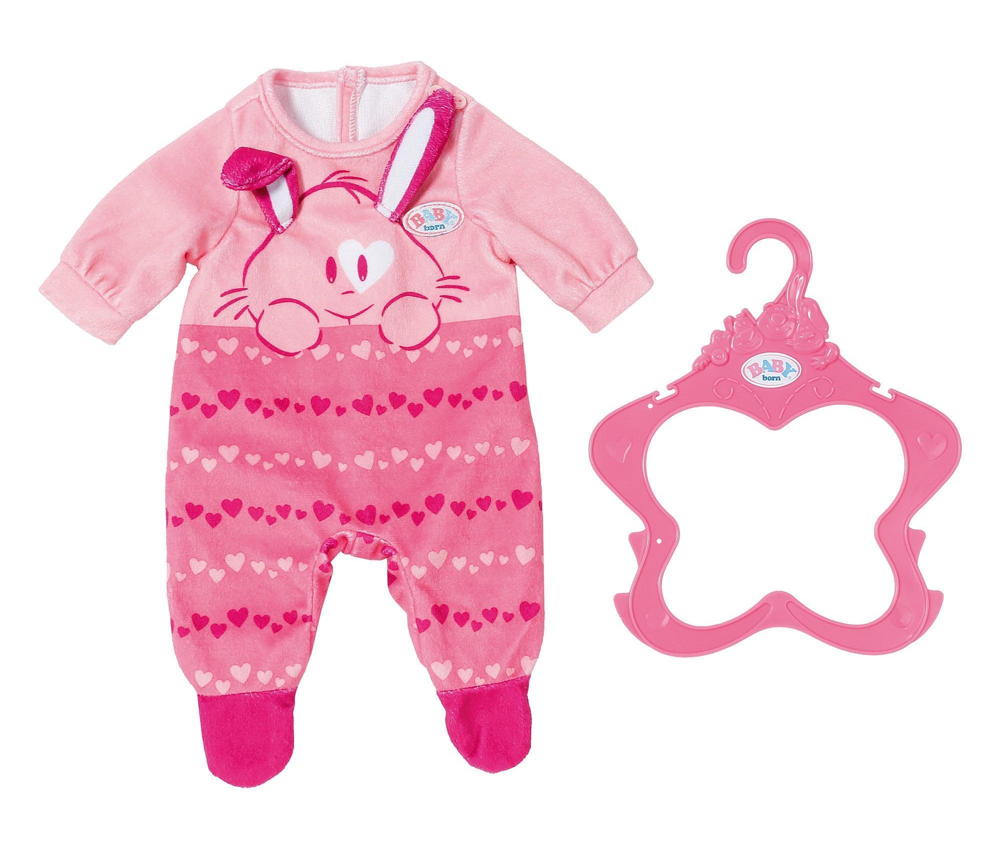 Комбинезончик BABY born для куклы 43 см, розовый