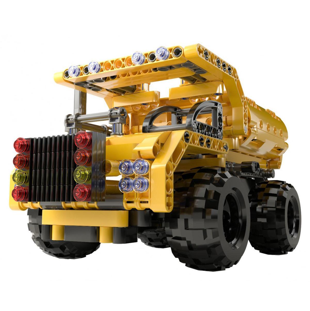 CYBER TOY Конструктор CyberTechnic, 329 деталей, желтый