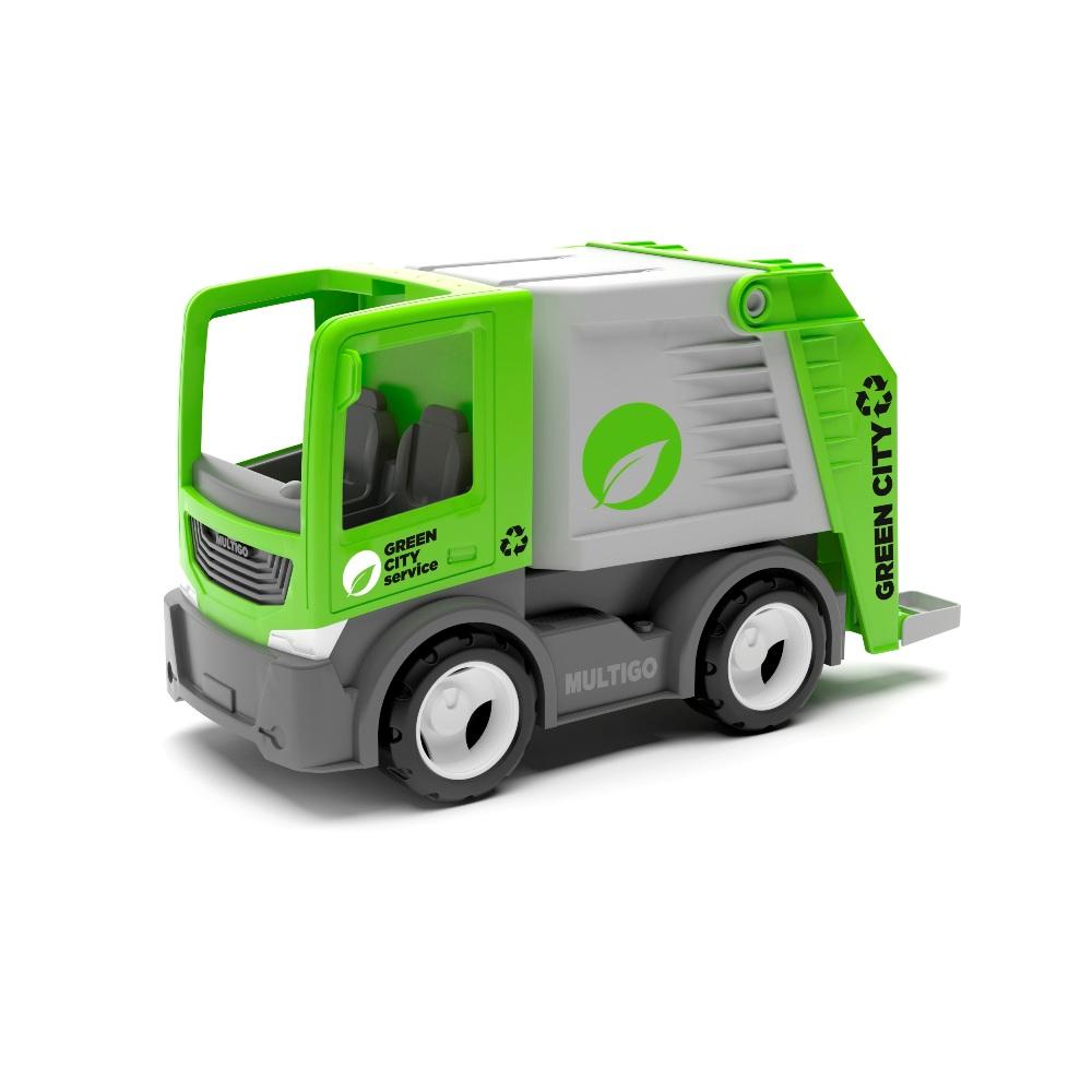 Efko Машина мусоровоз, 22 см