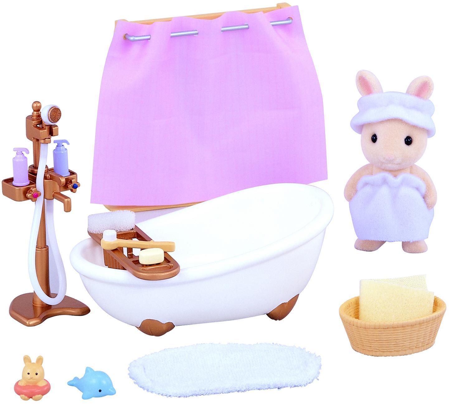 Купить Игровой набор Sylvanian Families Ванная комната мини, Китай