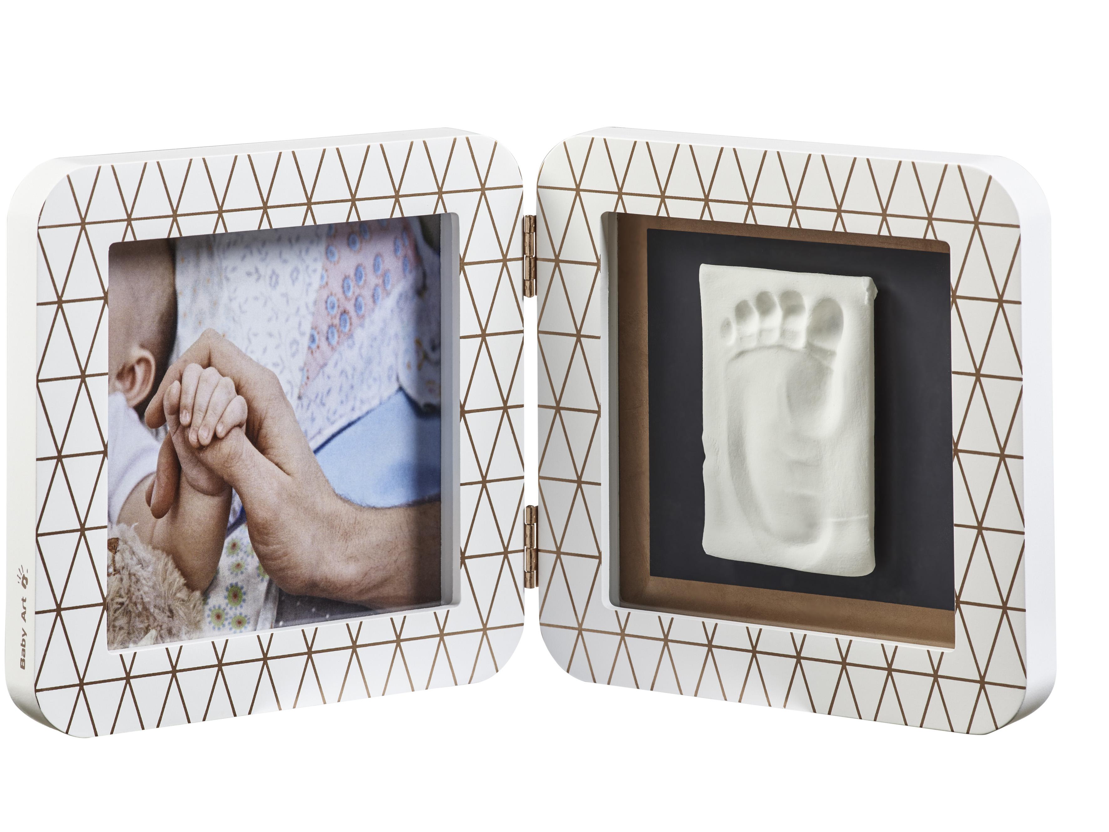 Купить Baby Art Рамочка двойная Медный орнамент , белый, Китай