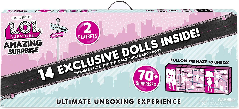 Купить LOL Surprise Удивительный Сюрприз Amazing Surprise 14 кукол ЛОЛ и 70+ сюрпризов, L.O.L., Китай