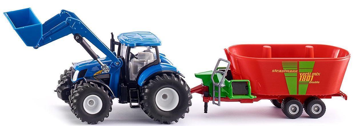 Купить SIKU Трактор Holland с фронт.погрузчиком, Китай