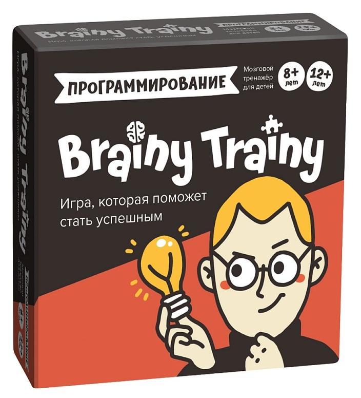 """BRAINY TRAINY """"Игра-головоломка УМ268 Программирование"""""""