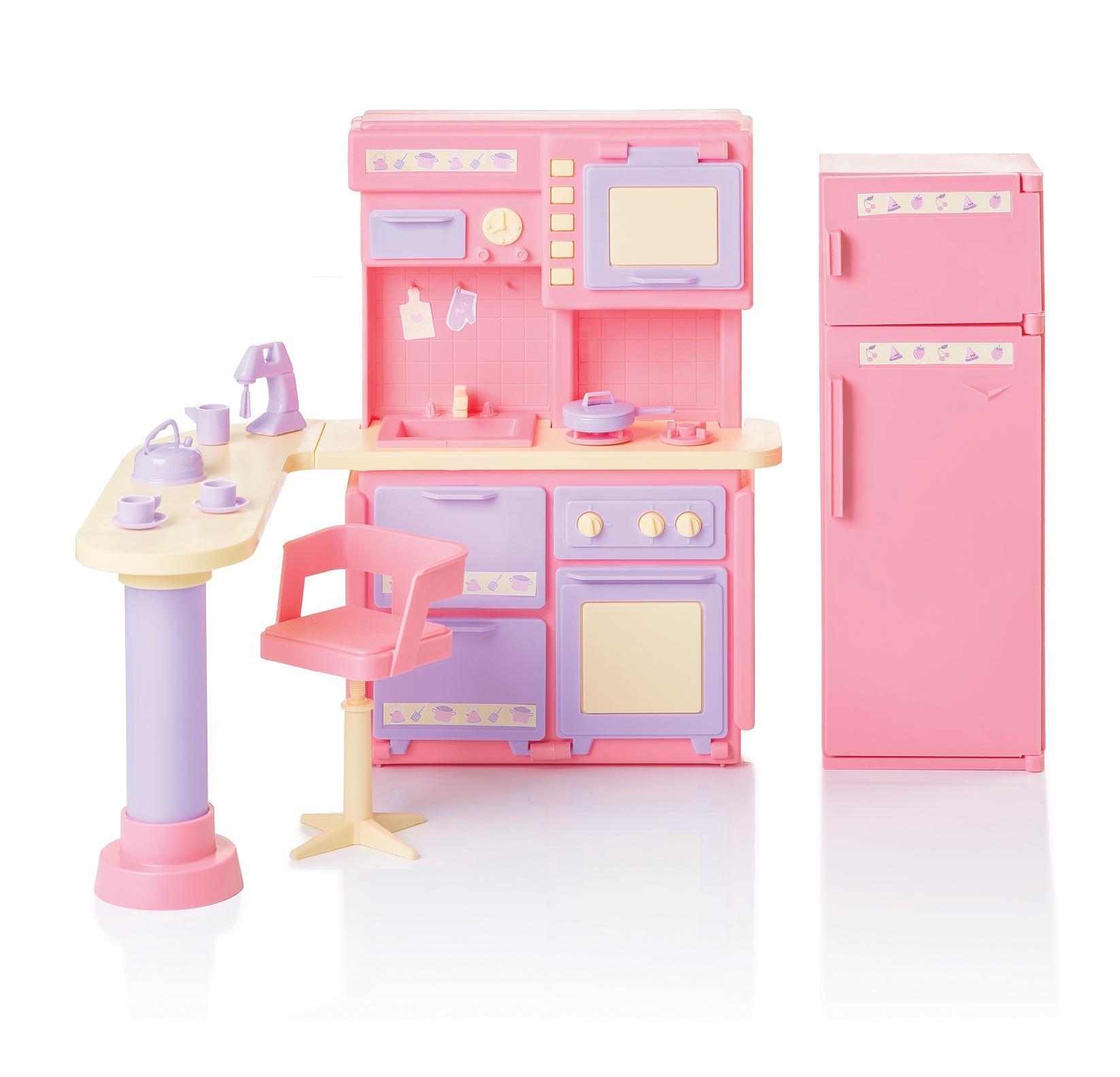Купить Огонек Кухня Маленькая принцесса , цвет розовый, Россия