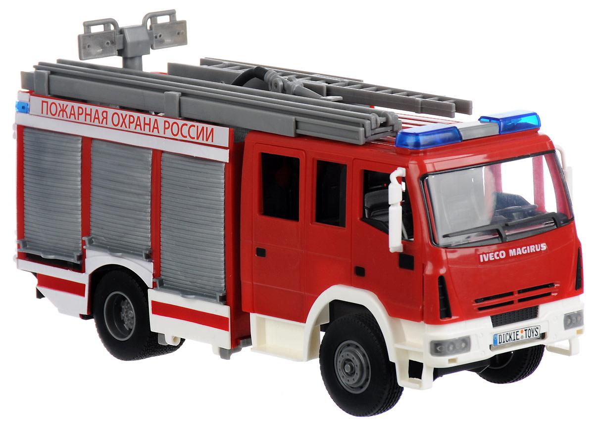 """DICKIE """"Пожарная машина 30см (вода, свет, звук) - 3717002"""", Китай  - купить со скидкой"""