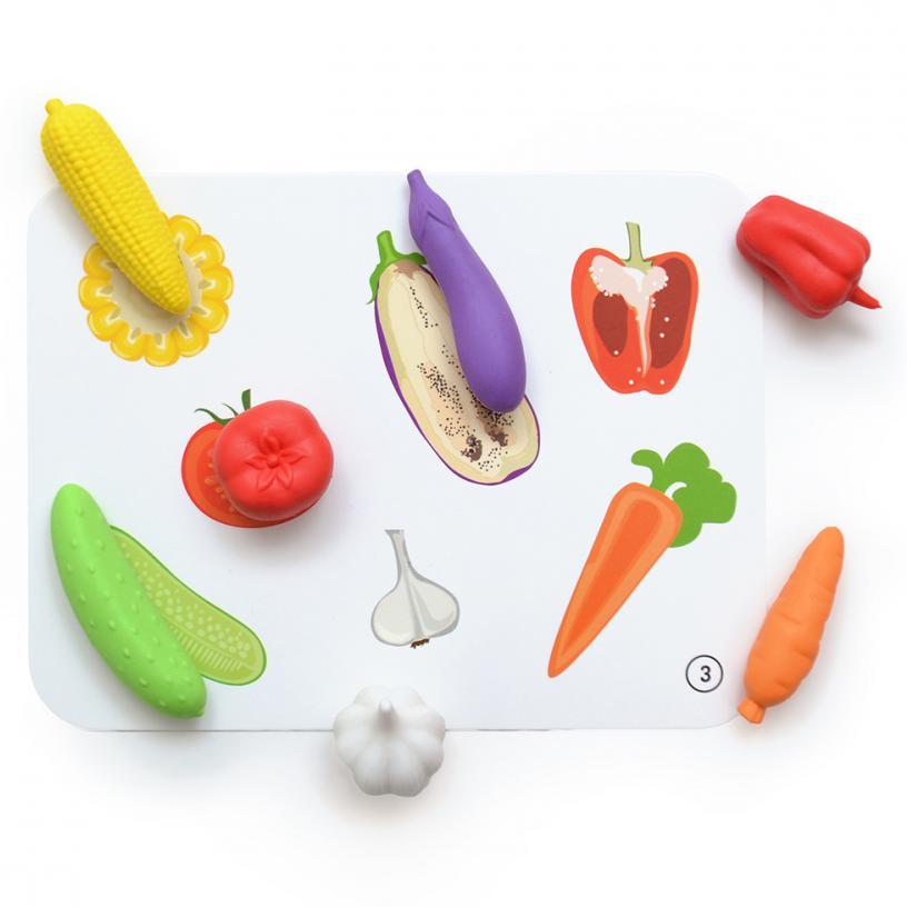 """Knopa Дидактический набор """"Овощи и фрукты"""""""