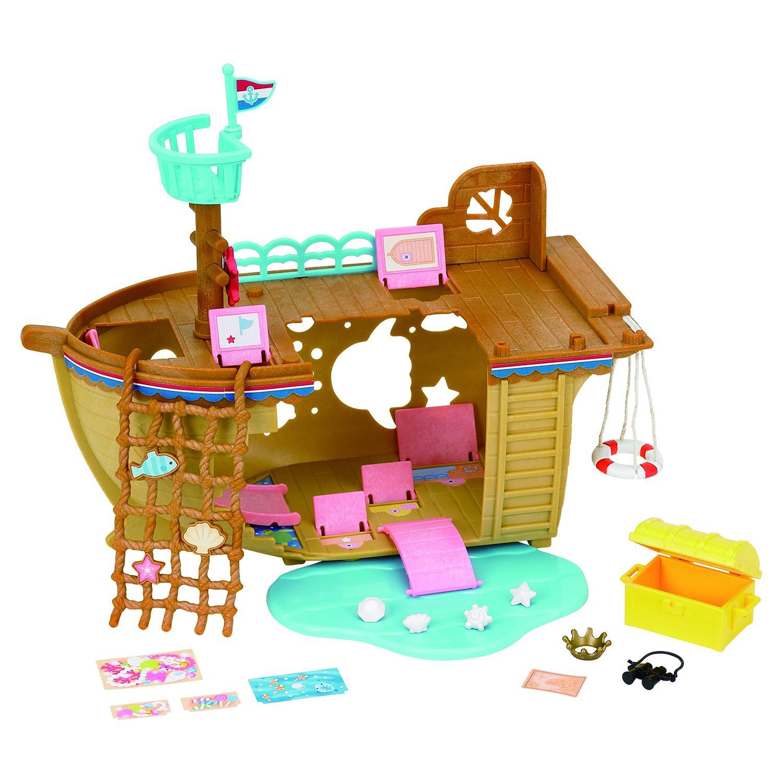 Купить Sylvanian Families набор Детская площадка Сокровища морей , Китай