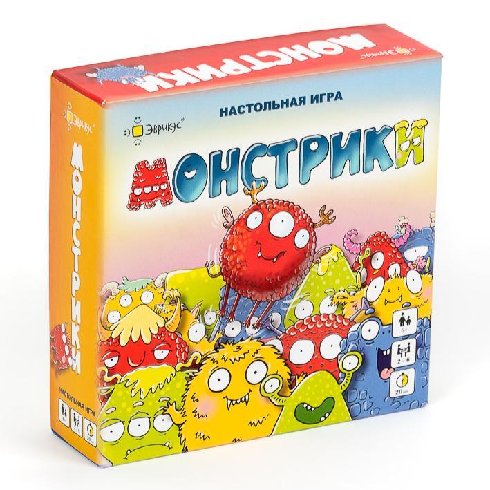 Купить Эврикус Настольная игра Монстрики , Россия