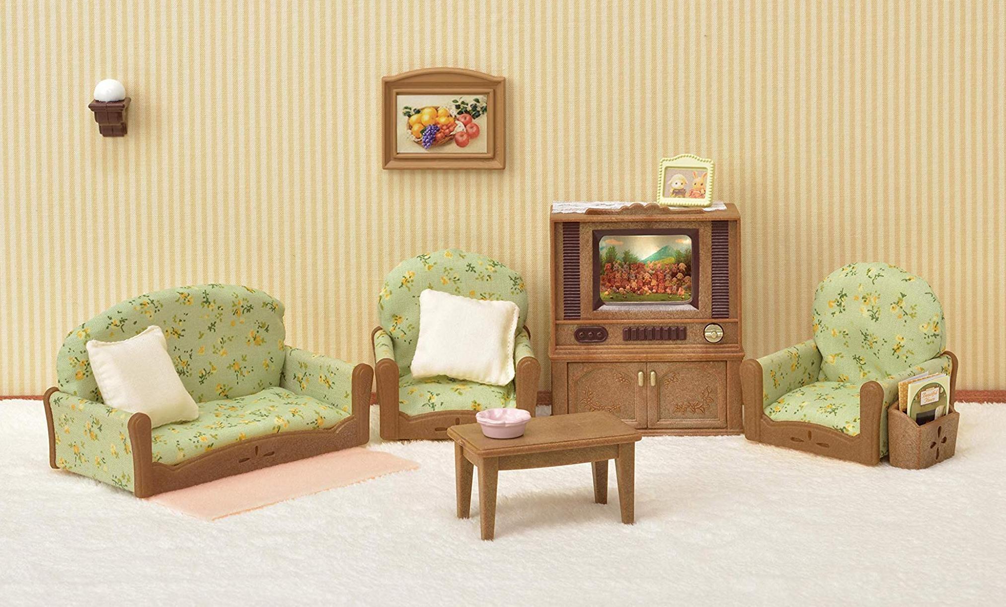 Купить Набор Sylvanian Families Гостиная с телевизором, Китай