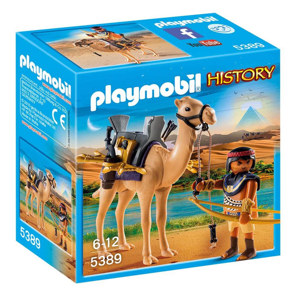 Купить Playmobil Конструктор Римляне и Египтяне: Египетский воин с верблюдом, Германия