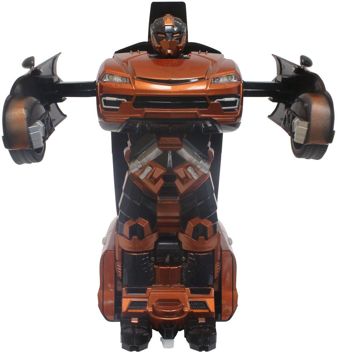 Купить 1TOY Трансботы - Внедорожник - робот-трансформер на пульте | оранжевый, Китай
