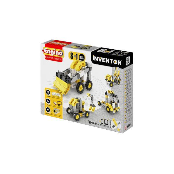 Купить Конструктор ENGINO PB 24/0834 INVENTOR Спецтехника - 8 моделей, Кипр
