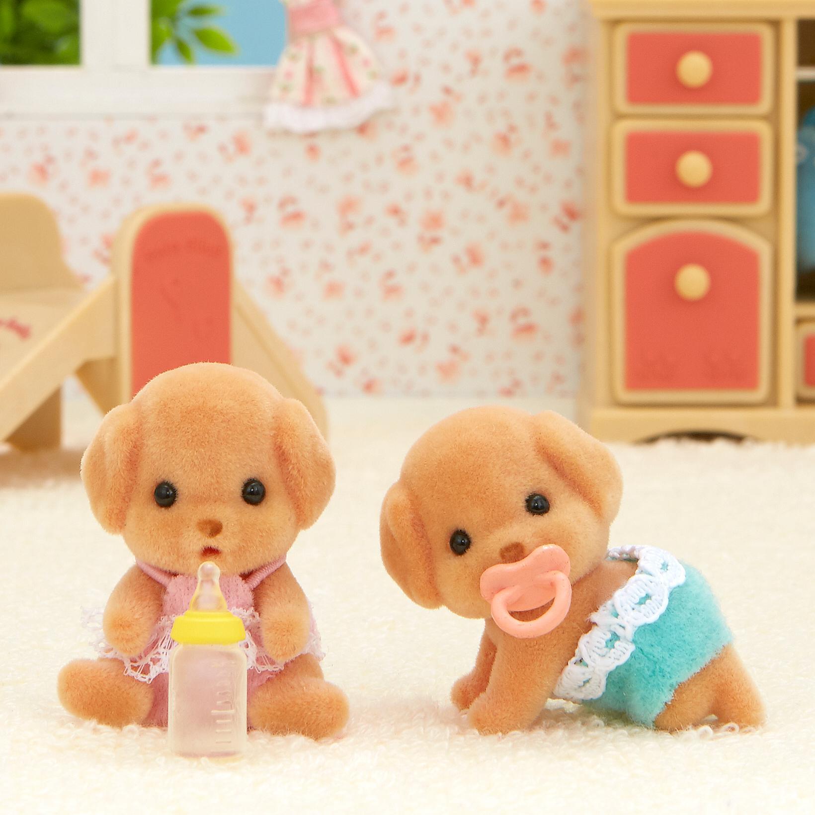 Купить Sylvanian Families Лабрадоры-двойняшки - набор фигурок, Китай