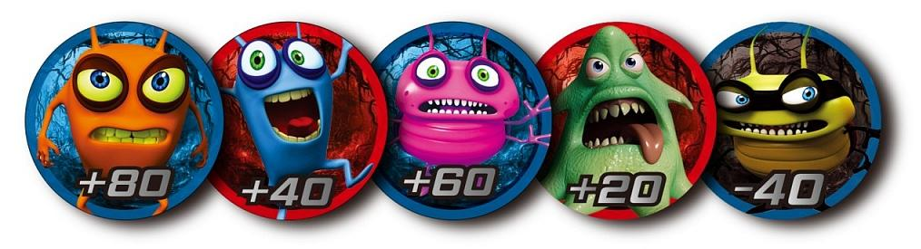 CATCHUP TOYS Жетоны Spider Spin. Collective Tokens (Blue) SS-002T-BLU