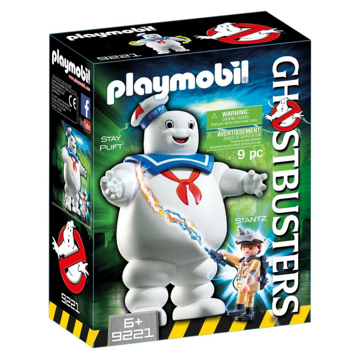 Купить Playmobil Конструктор Охотники за привидениями: Зефирный человек, Мальта