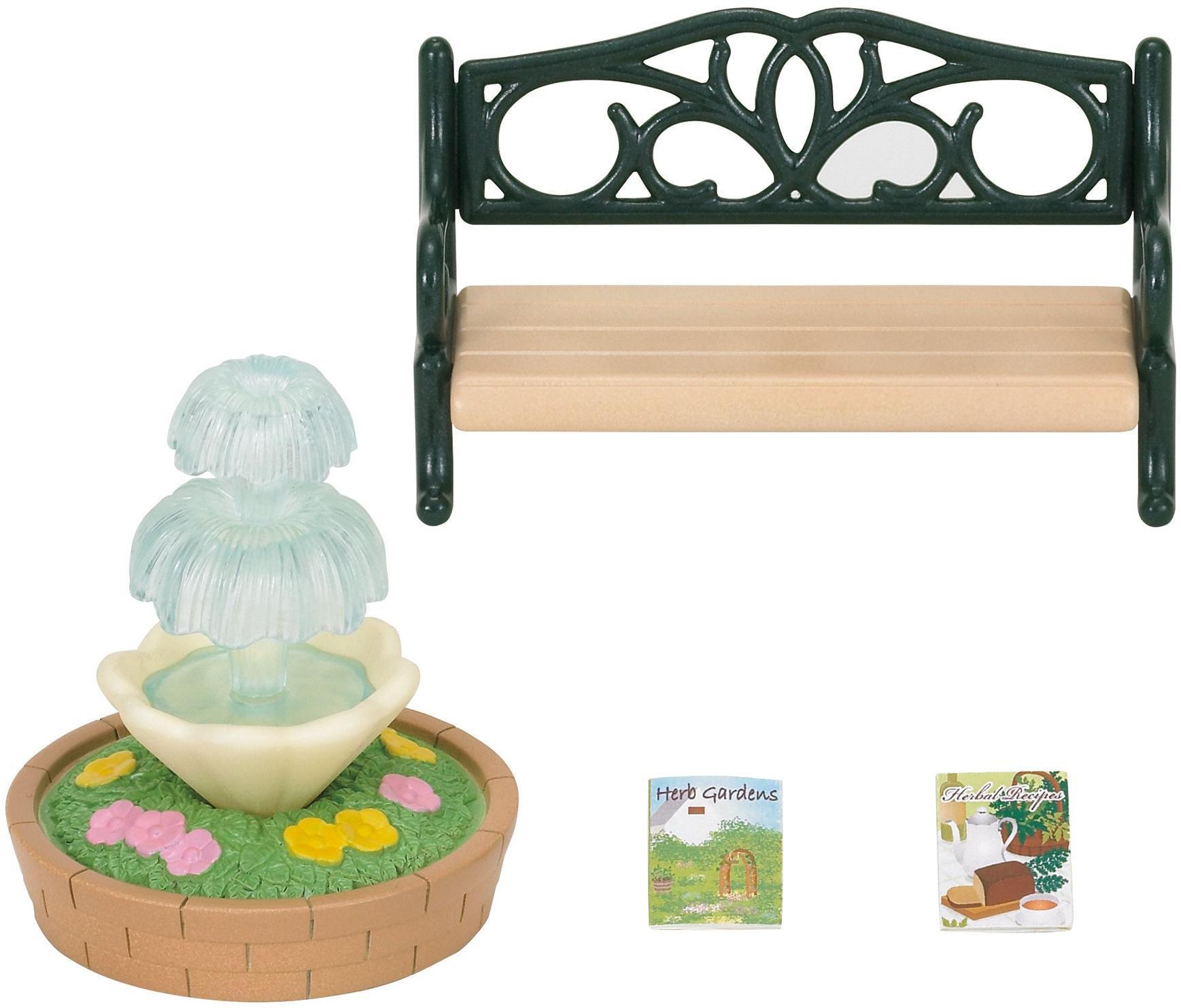 Купить Игровой набор Sylvanian Families Фонтан и скамейка , Китай