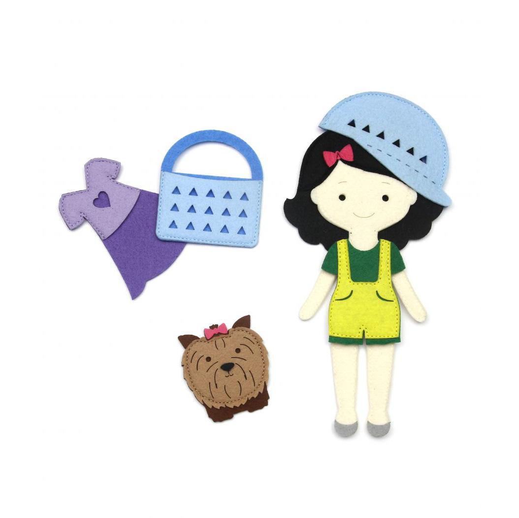 Купить Фетров Игровой набор Одень куклу. На прогулку , Россия