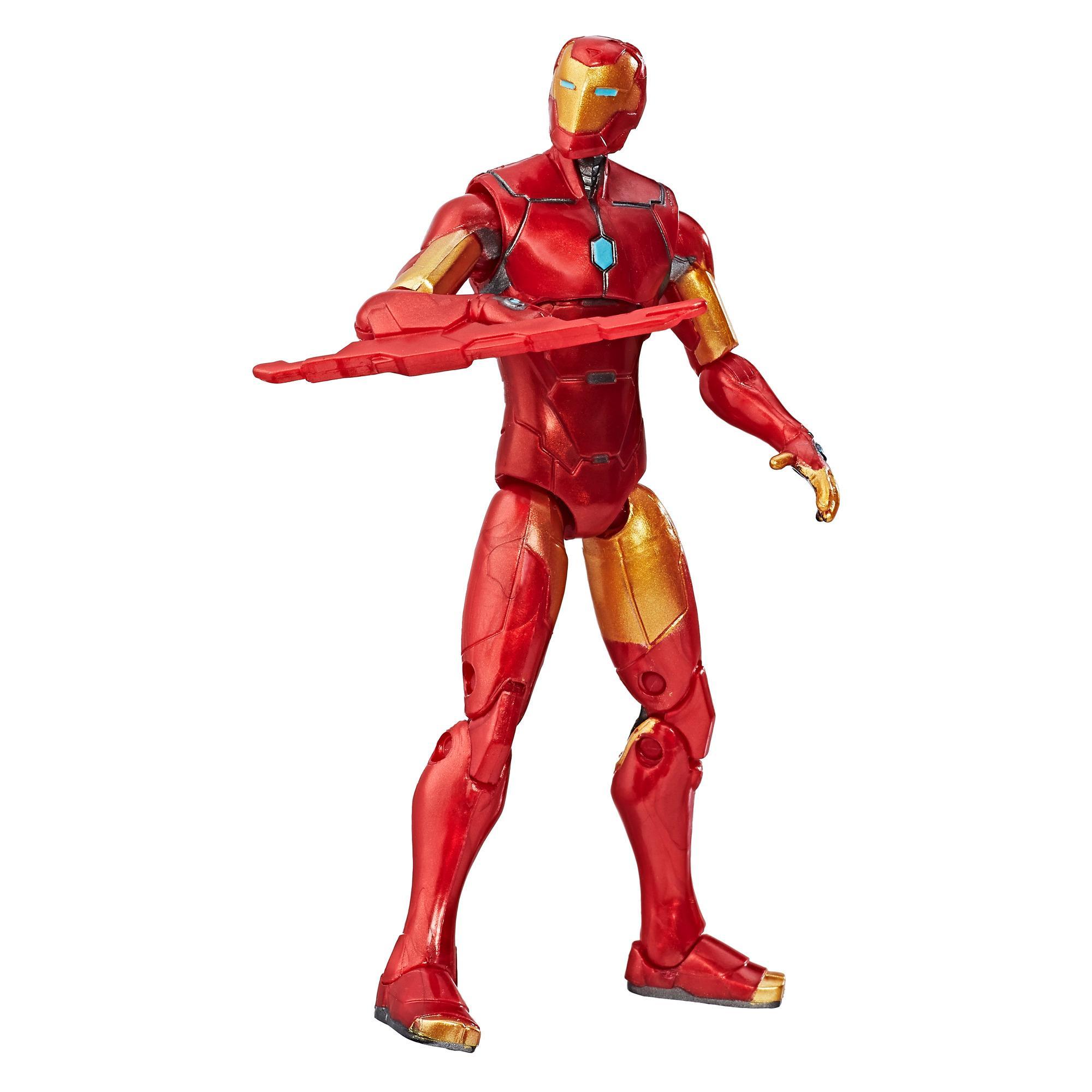 Купить Avengers Marvel Classic коллекционная фигурка Мстители Invincible Iron Man 9, 5 см, Китай