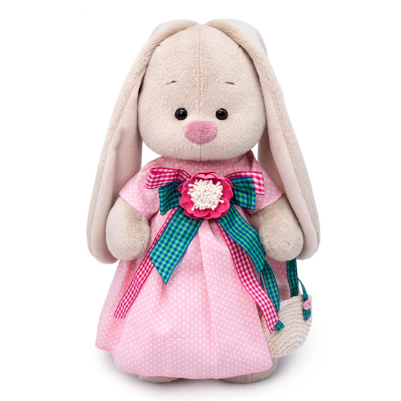 Купить Мягкая игрушка BUDI BASA Зайка Ми Розовая дымка, 32 см, Россия