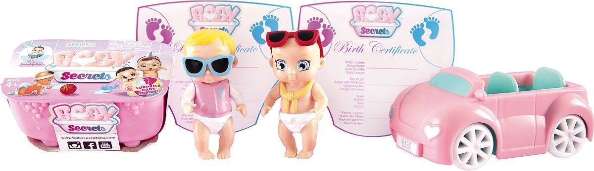 Купить Игровой набор Zapf Creation Baby Secrets Набор с кабриолетом, Китай