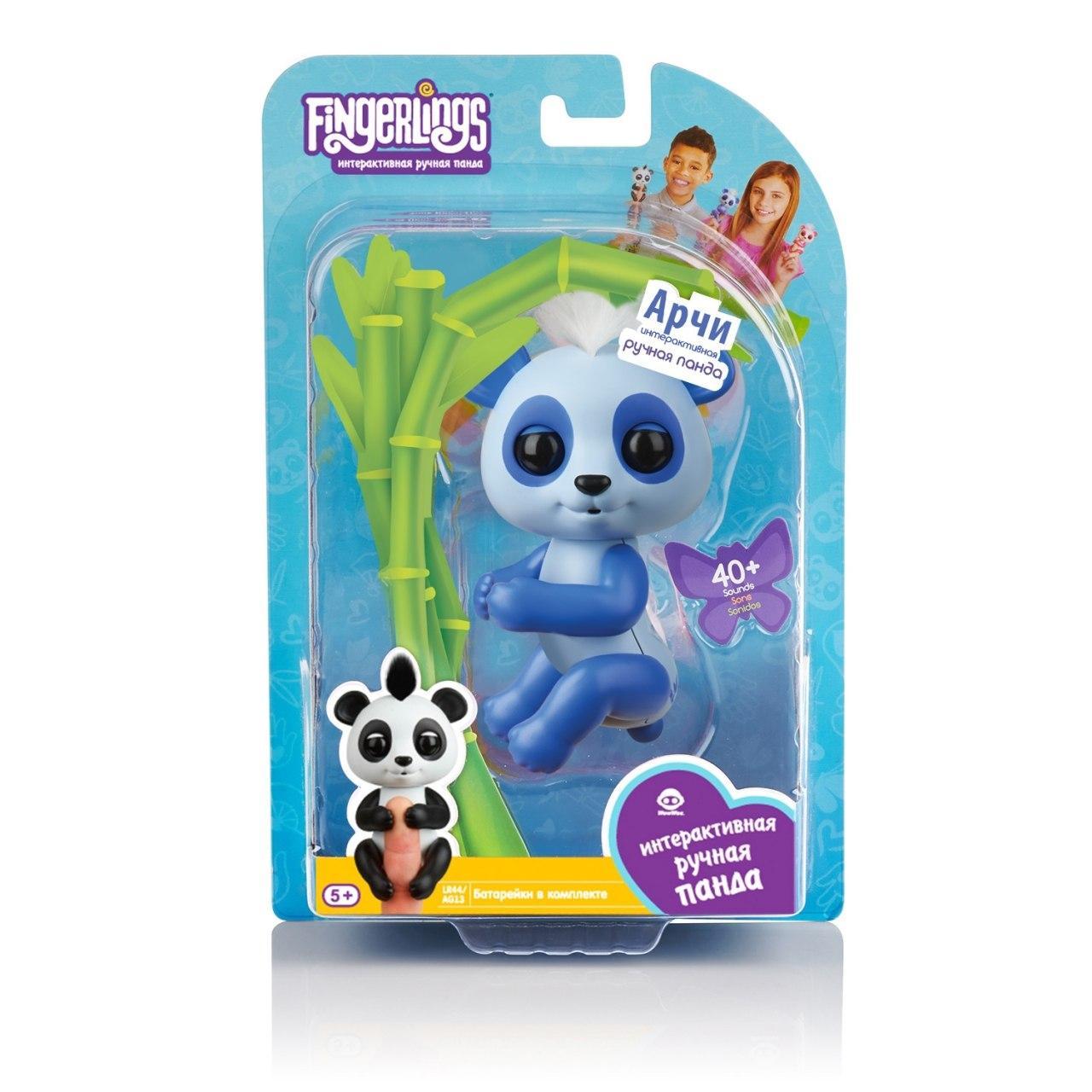 "FINGERLINGS ""Панда - Арчи"" - интерактивная игрушка"